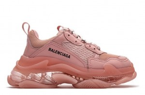 """Clear Sole """"Pink"""""""