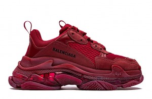 """Clear Sole """"Wine Red"""""""